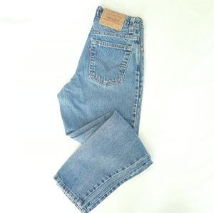 LEVI'S Vintage High Rise Tapered Mom Jeans 5